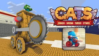 Download Monster School : C.A.T.S CRASH ARENA TURBO CHALLENGE - Minecraft Animation Video