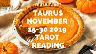 Download Taurus~MIRACLE VICTORIES for THE UNTOUCHABLE WISE ONES! Nov. 15-30 Tarot Reading Video