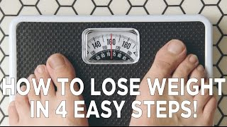 Download How To Lose Weight in 4 Easy Steps! Video