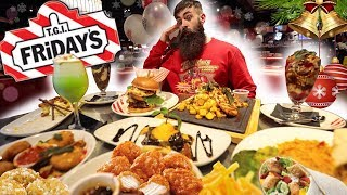 Download THE TGI FRIDAY'S FESTIVE MENU FEAST CHALLENGE | C.O.B. Ep.90 Video
