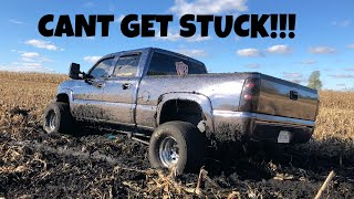 Download I went mudding with DRAG SLICKS on my Duramax Video