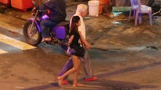 Download Cambodia Nightlife - Phnom Penh Night Scenes Video