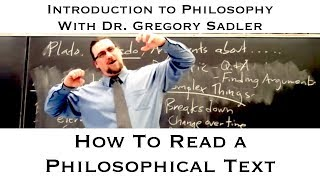 Download How to Read a Philosophical Text: Matters to Keep in Mind Video