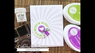 Download Embossing Glitter with Stencils for Card Making Video