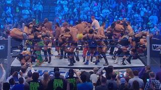 Download Historical 41-Man Battle Royal: SmackDown, Oct. 14, 2011 Video