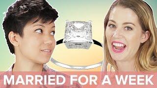 Download Single People Get Married For A Week • Jen & Kelsey Video