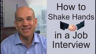 Download How to Shake Hands in a Job Interview - Training Module 4 Video