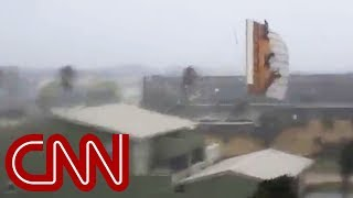 Download See Hurricane Michael tear roof off home Video