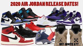 Download 2020 AIR JORDAN RELEASE DATES + OFF-WHITE 5S RELEASING?! Video