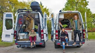 Download Van Life Tour | Ultimate Off-Grid Sprinter Van Conversion | Scott Adamson X Eamon & Bec Video