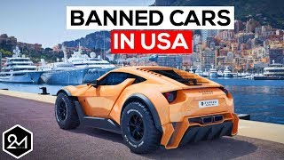 Download Top 10 Exotic Cars We're Not Allowed To Have In America - Banned Cars Video