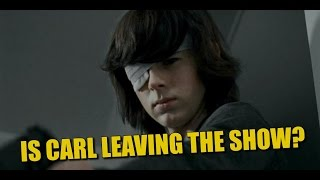 Download The Walking Dead Discussion Is Carl Leaving The Show? Video