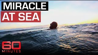 Download Miracle at Sea (2013) - Surfer falls overboard and forced to fend off sharks   60 Minutes Australia Video