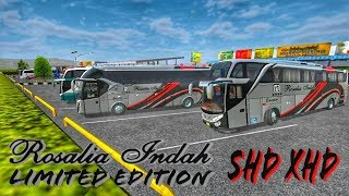Download Berbagi livery bussid || Rosalia Indah Limited Edition SHD + XHD || by BlahBloh Video