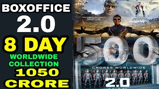 Download Robot 2.0 8th day Boxoffice Collection, Robot 2.0 Worldwide Collection, Akshay kumar Rajnikant Video