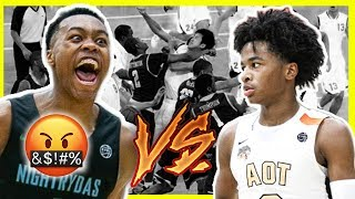 Download MOST HEATED GAME OF THE YEAR! Sharife Cooper Vs Scottie Barnes and #1 Player in The Country! Video