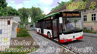 Download OMSI 2. Waldhofen, Line 595, Mercedes-Benz Citaro K Facelift Video