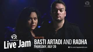 Download Rappler Live Jam: Basti Artadi and Radha Video