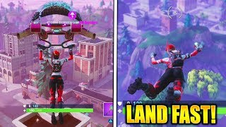 Download HOW TO LAND BEFORE ANYONE FORTNITE HOW TO LAND FASTER in FORTNITE BATTLE ROYALE! Video