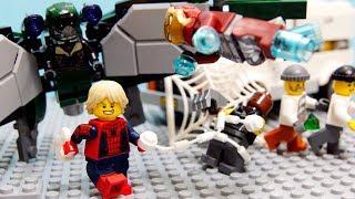 Download 【LEGO遊び】スパイダーマンごっこ 強敵バルチャーとの対決!アイアンマンと一緒に戦うぞ【アナケナ&カルちゃんのキッズアニメ】Spider man 76083 Video