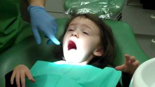 Download Elie's first visit to the dentist Video