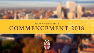 Download Commencement 2018 Video