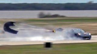 Download 3000hp Corvette Goes AIRBORNE! Video