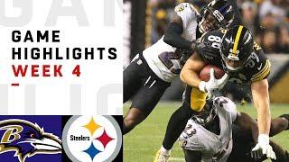 Download Ravens vs. Steelers Week 4 Highlights   NFL 2018 Video