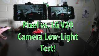 Download Pixel vs. LG V20 Camera Test in Low Light! Video