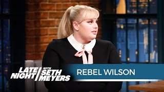 Download Rebel Wilson on Kissing How to Be Single Extras - Late Night with Seth Meyers Video