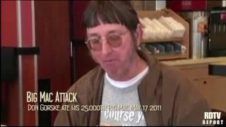 Download BIG MAC ATTACK: Man eats 25,000th Big Mac Video