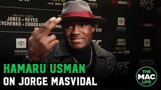 Download Kamaru Usman: Jorge Masvidal is becoming everything he said he wouldn't be Video