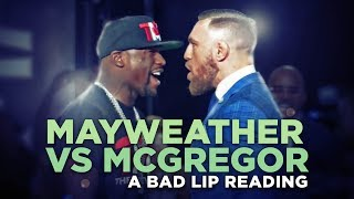 Download ″MAYWEATHER VS. MCGREGOR″ — A Bad Lip Reading Video