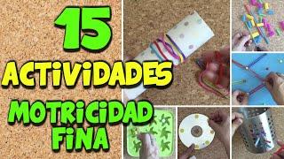 Download 15 actividades de psicomotricidad fina para niños Video