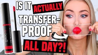 Download NEW TRANSFER-PROOF GLOSS FROM SEPHORA?! All Day Wear Test! || Buy or Bye Video