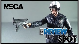Download Toy Spot - NECA Terminator 2 Judgment Day Ultimate T-1000 Motocycle Cop Figure Video