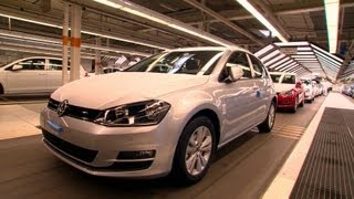 Download VW Golf Mk 7 Production, Wolfsburg plant, 2013 Video