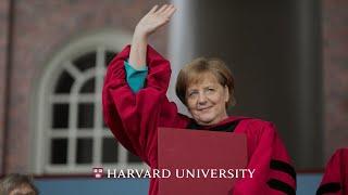 Download German Chancellor Angela Merkel's address | Harvard Commencement 2019 Video