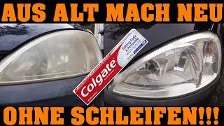 Download Colgate macht nicht nur deine Zähne weiß! | Scheinwerfer aufbereiten mit Zahnpasta!!! Video