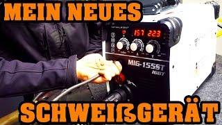 Download Mein neues Schweißgerät für 299€ 🛠 Zu Besuch bei STAHLWERK 🛠 MIG 155ST IGBT Video