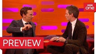 Download Eddie Redmayne and Benedict Cumberbatch perform magic! - The Graham Norton Show 2016 - BBC One Video