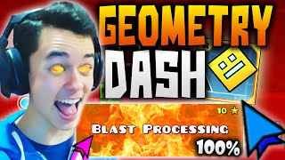 Download Geometry Dash! ″BLAST PROCESSING″ COMPLETE 100% Level 17! #18 - TheGrefg Video