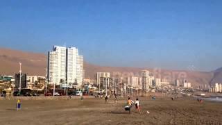 Download Tsunami warning triggers evacuation of Chile beach Video