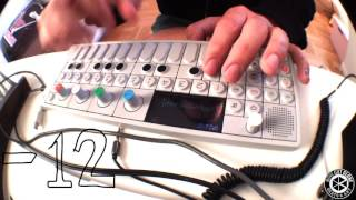 Download Beatmaking on Teenage Engineering OP-1. Sampling an old cassette tape. Video