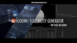 Download Houdini Tutorial - Electricity Generator Video
