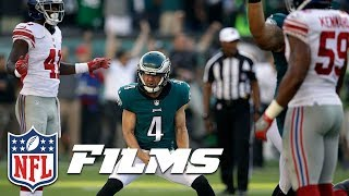 Download Carson Wentz Manipulates Giants to Set Up Iconic Kick (Week 3) | NFL Turning Point Video