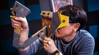Download Tested: Nintendo Labo VR Kit Review! Video