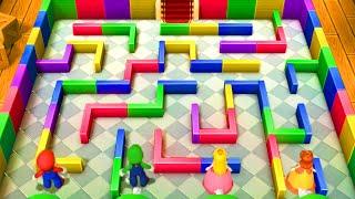 Download Mario Party 10 - Master Difficulty - Mario vs Luigi vs Peach vs Daisy - Minigames Video