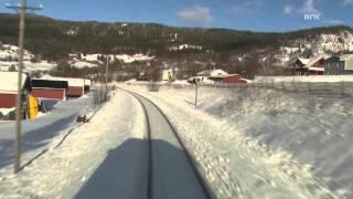 Download Cab Ride Norway : Trondheim - Bodø (Winter) Nordland Line Video
