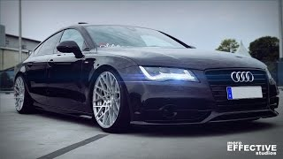Download Audi A7 3.0 TDI quattro on 20″ ROTIFORM with Air | More Effective Studios Video